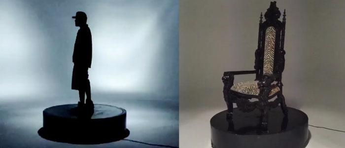 5 foot motorized turntable prop studio space atlanta