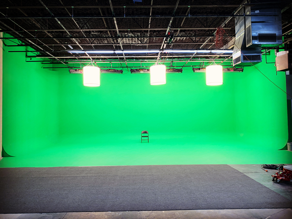 green screen soundstage