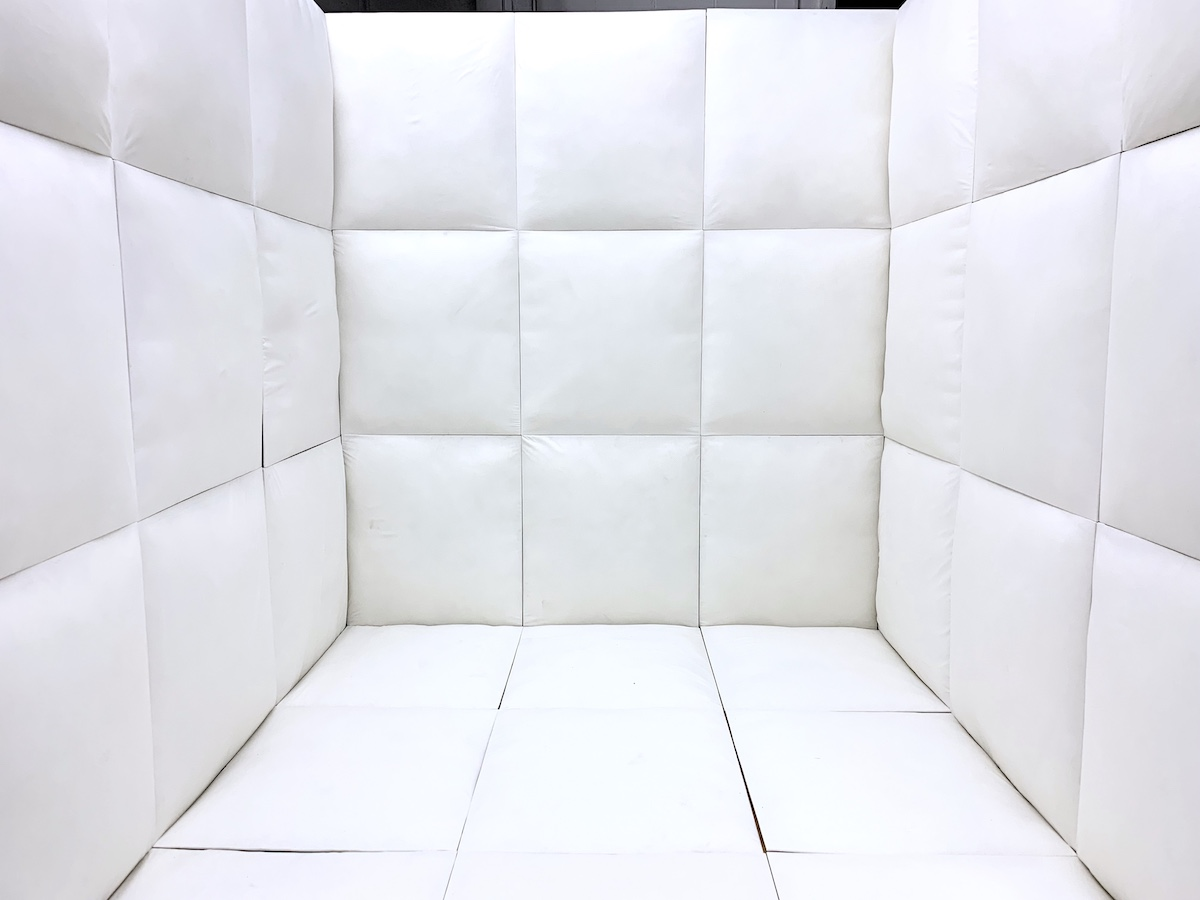 padded room psych ward standing set Studio Space Atlanta