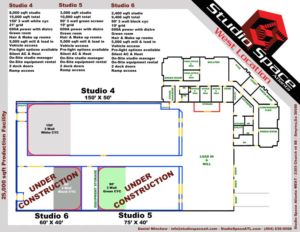 Rental studio 2 atlanta